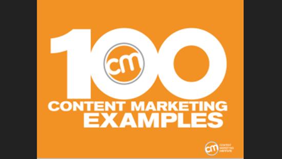 100 ejemplos de marketing de contenidos