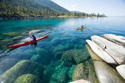 Resultado de imagen para Imágenes de kayak en Lake Tahoe