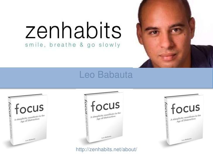 Resultado de imagen para imágenes para el logotipo de Zen Habits