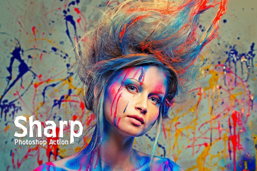 Sharp HDR Photoshop Actions
