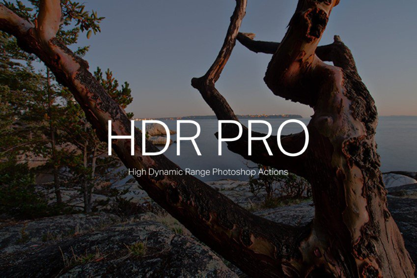 Photoshop HDR Pro Actions