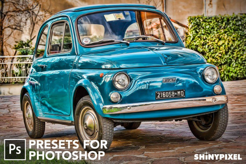 HDR Studio Vol.1 Photoshop Presets