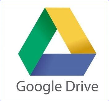 Resultado de la imagen de Imágenes para el logotipo de Drive Google