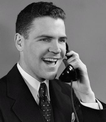 Resultado de imagen para Imágenes para alguien hablando por un teléfono antiguo