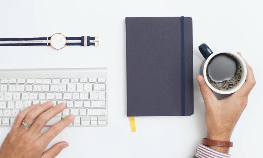 Trace la longitud y comience a escribir su libro electrónico (captura de pantalla de la escritura)