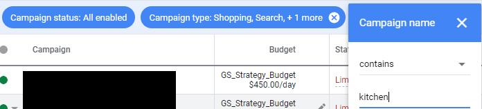 Quảng cáo Google kết hợp các báo cáo từ các danh mục bán lẻ