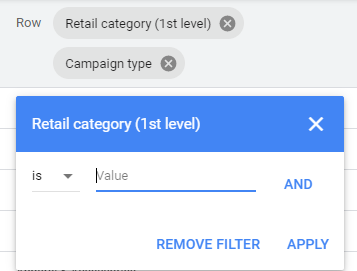 Google Ads incorpora informes de categorías minoristas