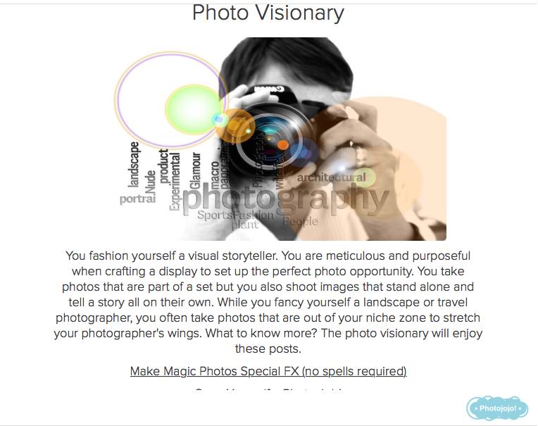 foto cuestionario resultado visionario