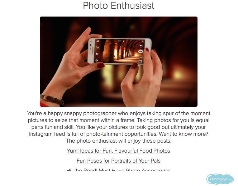 entusiasta del resultado del concurso de fotografía