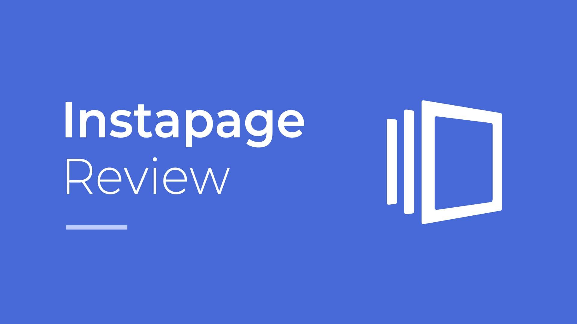 Przegląd Instapage: usługa optymalizacji konwersji premium