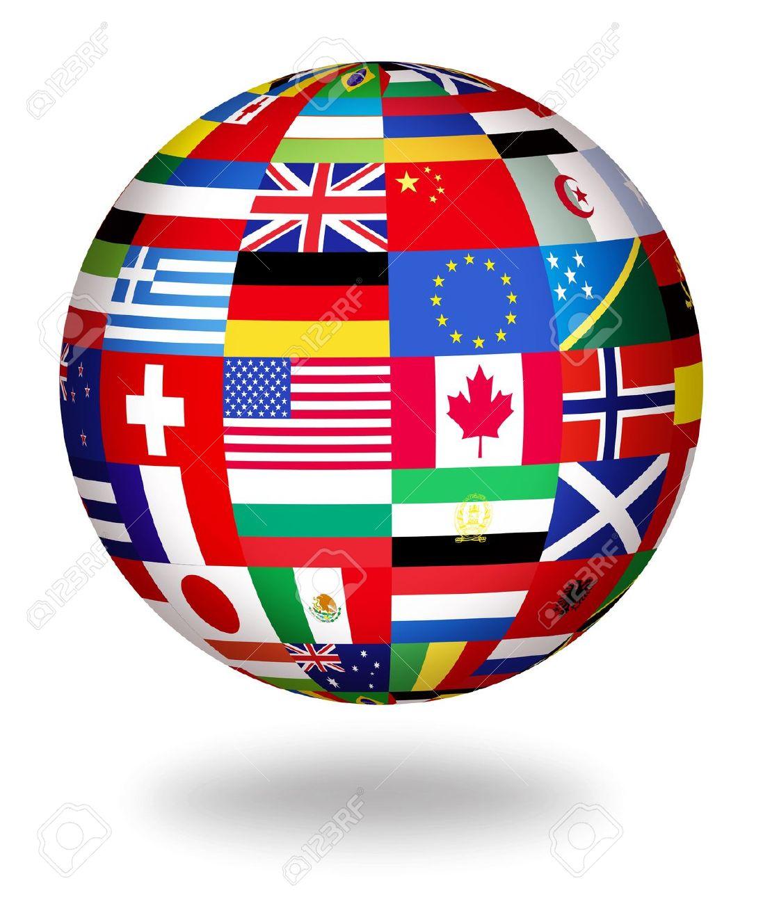 Resultado de la imagen de Imágenes para globos con banderas