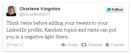 ejemplo de tweet