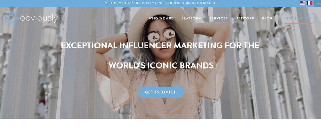 Obviamente Agencia de Marketing de Influencer