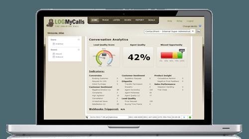 Captura de pantalla de la aplicación de seguimiento de llamadas LogMyCalls.