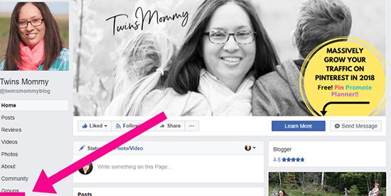 9  Liên kết với bạn Facebook Trang