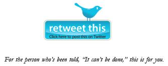 botón retweet
