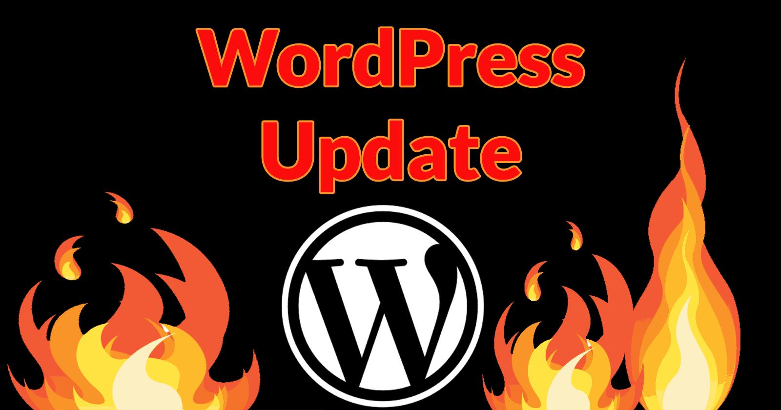 WordPress-haavoittuvuuspäivitys – hakukonepäiväkirja