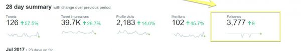 Analiza tu Twitter Crecimiento