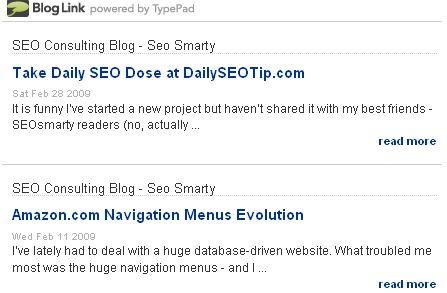linkedin bloglink