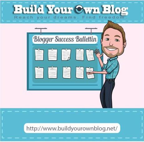 Boletín de éxito de blogger