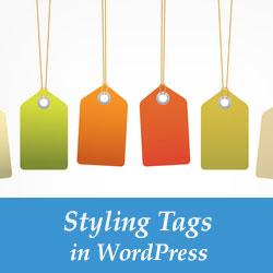 Cách tạo kiểu thẻ trong WordPress 2