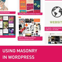 Kuinka käyttää muurausta lisätä Pinterest Post Grid -tyyli WordPressissä
