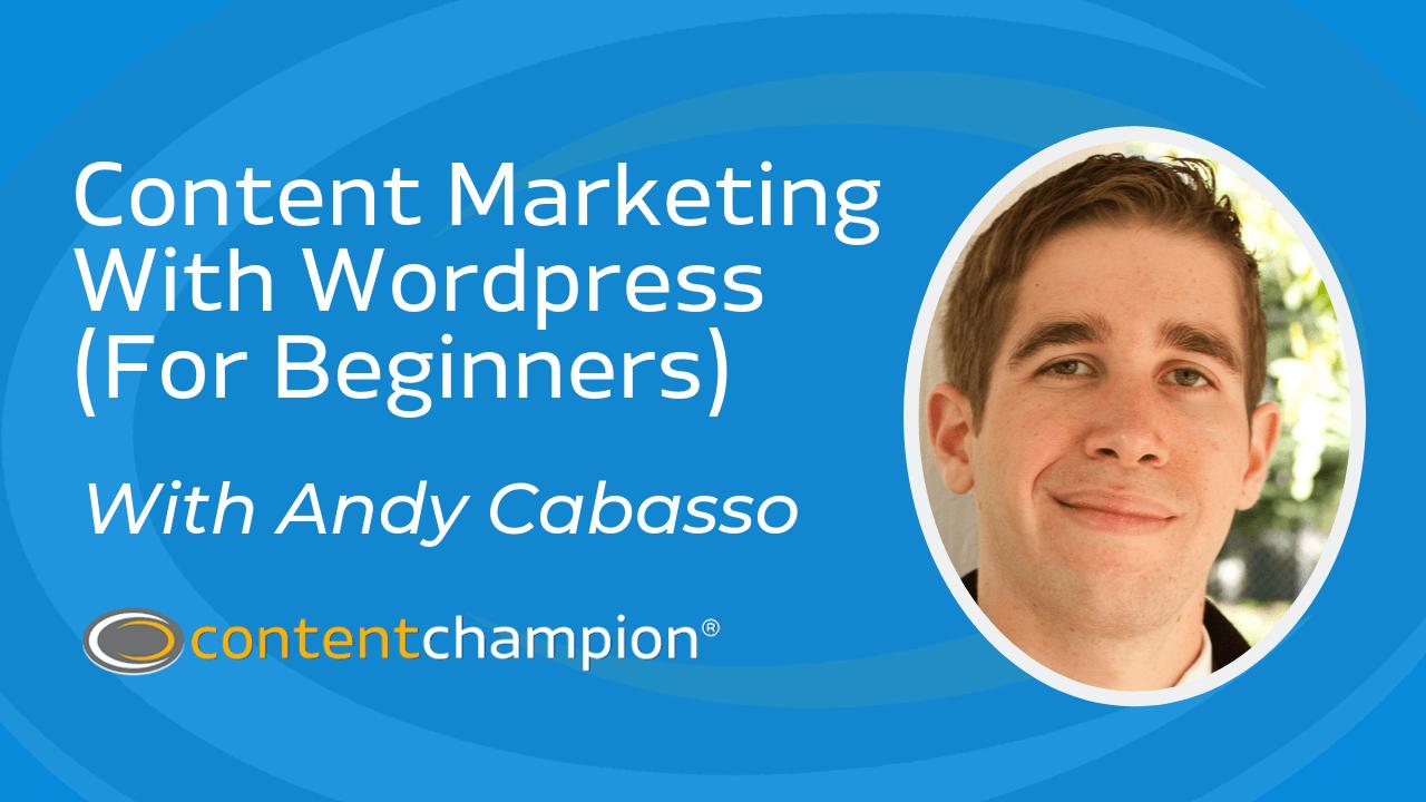 marketing de contenidos con wordpress