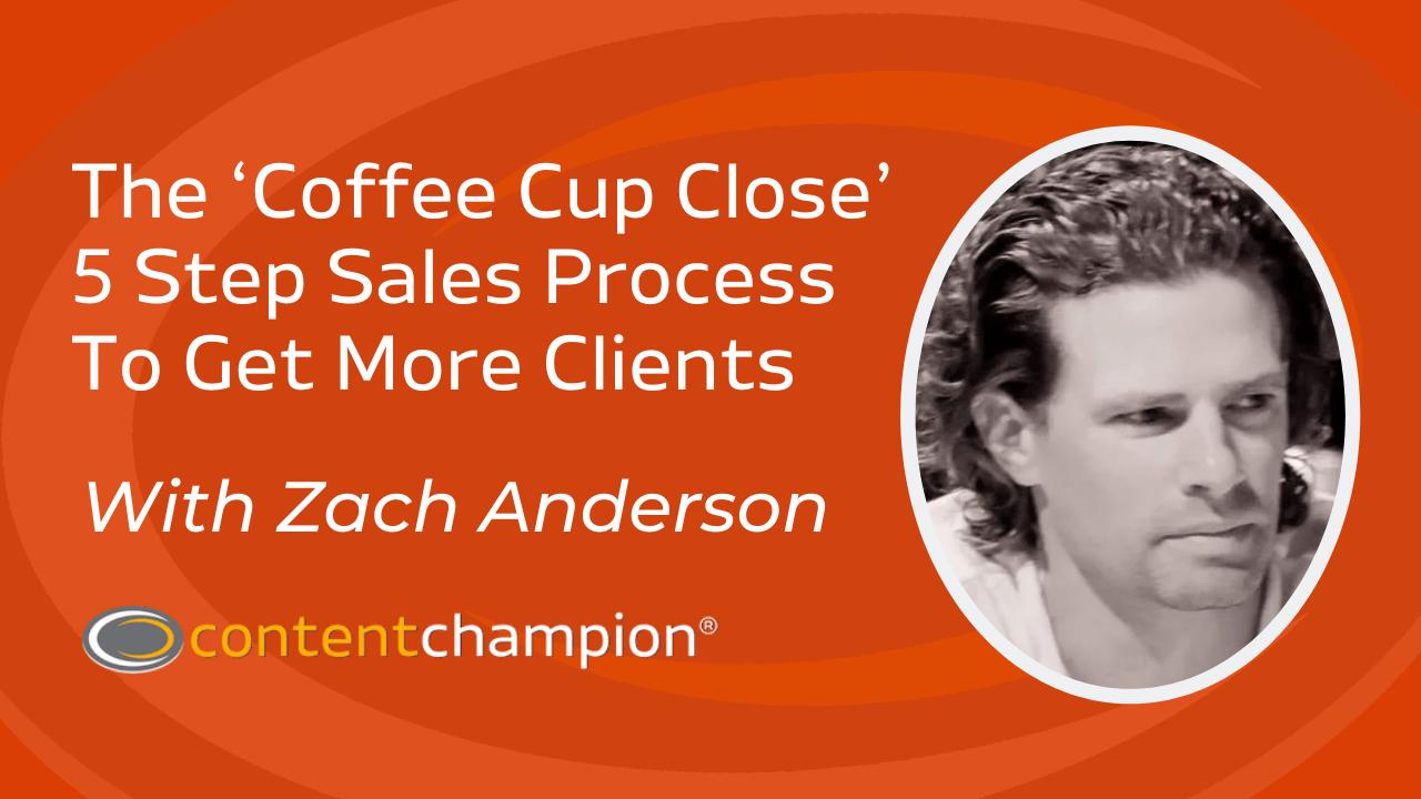 Zach Anderson como hacer más ventas