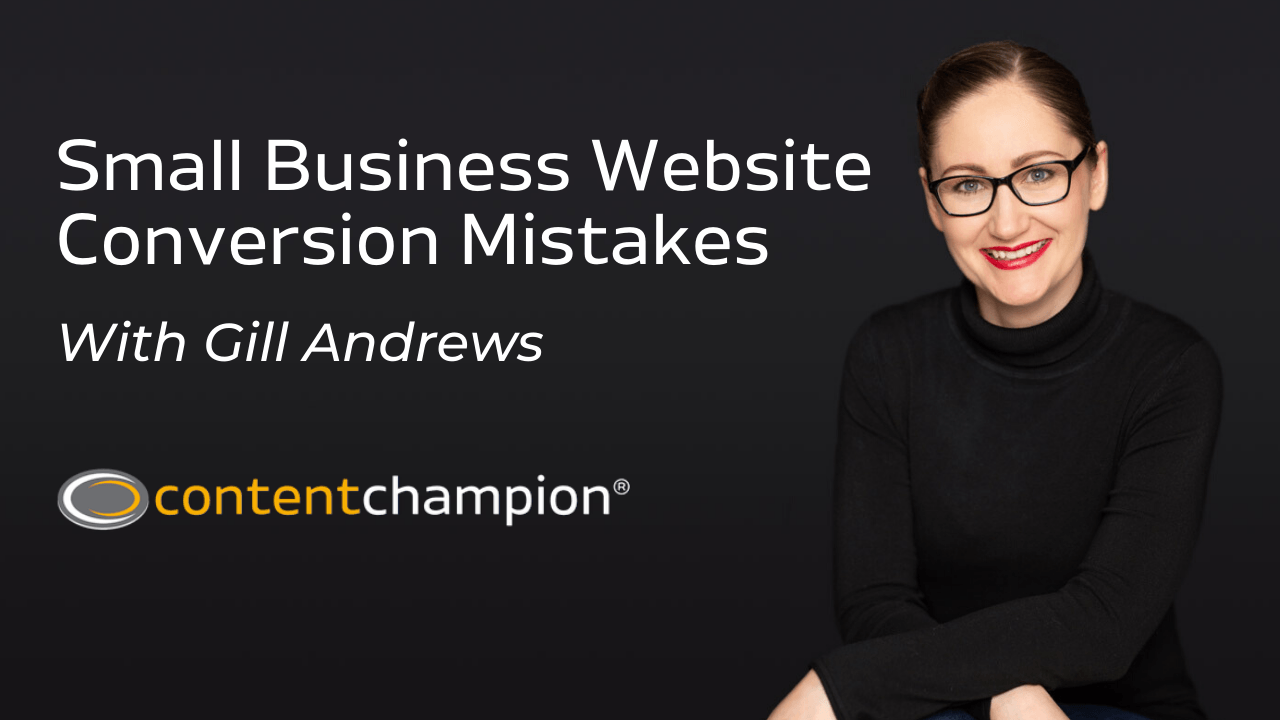 errores de conversión de sitios web de pequeñas empresas