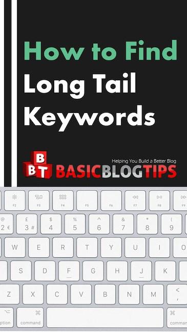 Cómo encontrar palabras clave de cola larga