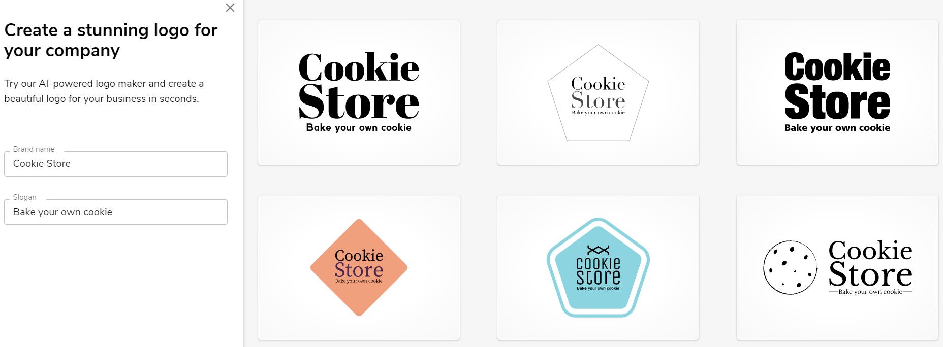 Creador de logotipos gratuito, creador de logotipos de contacto constante