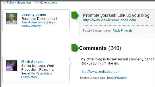 Promocionar grupo de LinkedIn