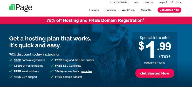 alternativas de hosting ipage-godaddy