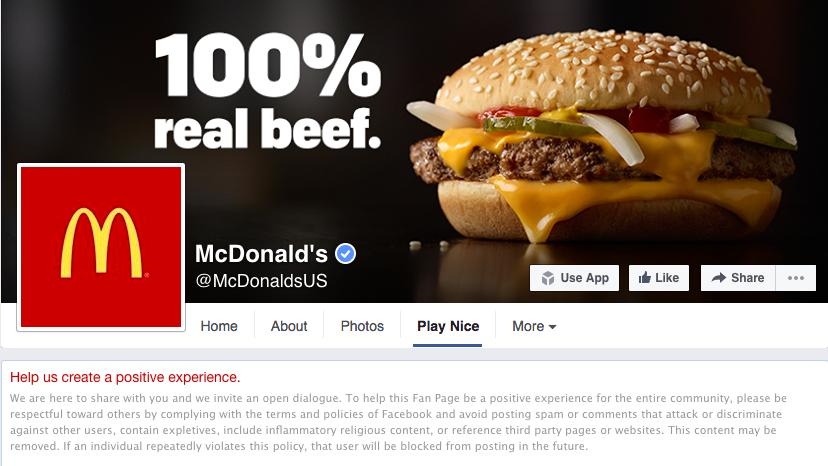 Captura de pantalla de McDonalds