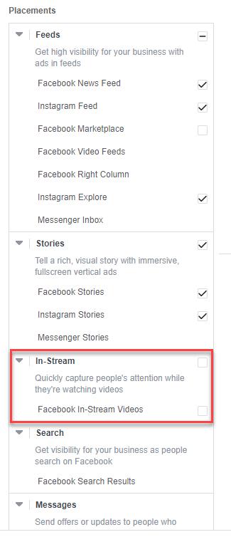 Facebook  Continúa creando transparencia de anuncios in-stream