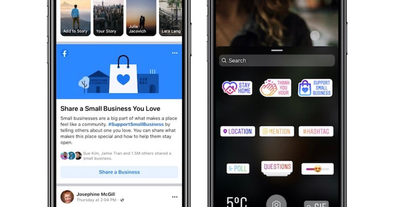 Facebook VÀ Instagram Thêm nhiều cách để hỗ trợ các doanh nghiệp địa phương 2