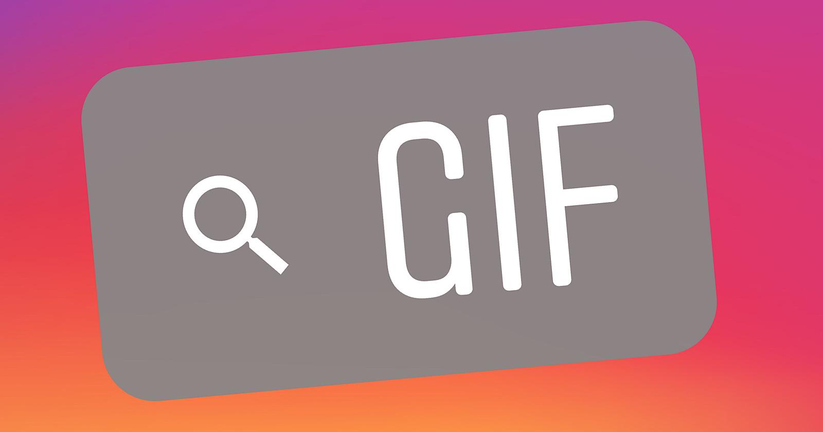 Facebook Hän aikoo integroida Giphyyn Instagram hankinnan jälkeen