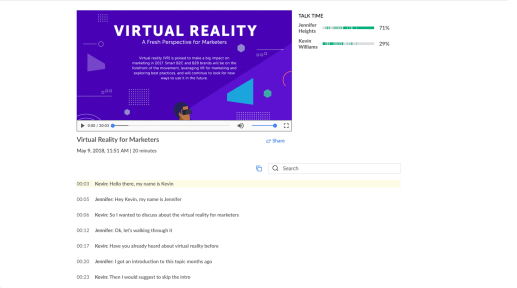 Revisión de GoToMeeting: realidad virtual