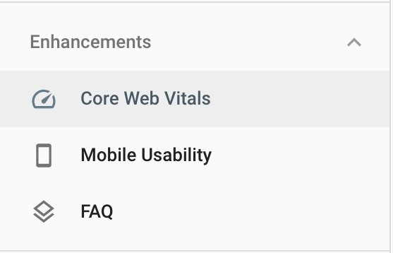 Google Search Console se actualizó con Core Web Vitals Report