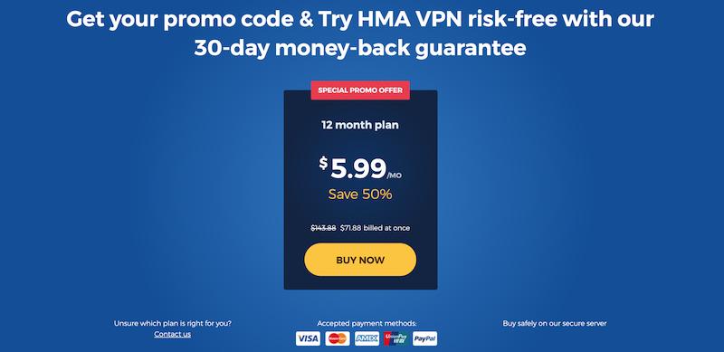 código promocional de hma