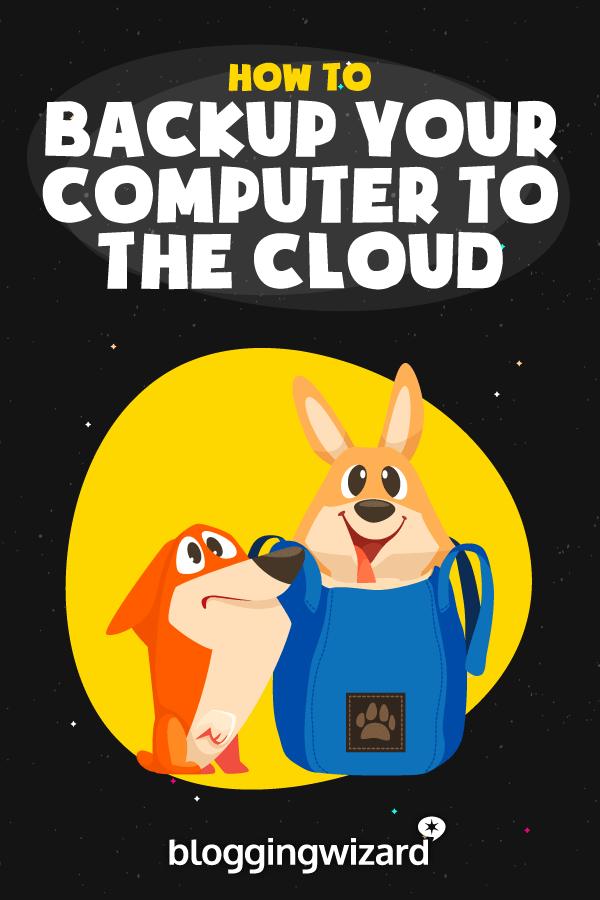 Cómo hacer una copia de seguridad de tu computadora en la nube