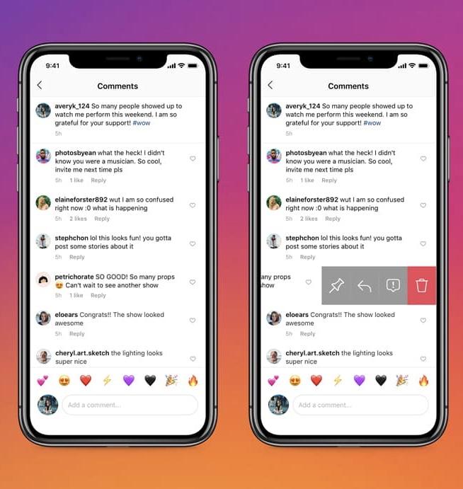 Instagram permite a los usuarios fijar comentarios en la parte superior de las publicaciones