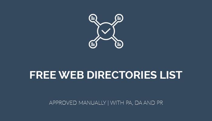 lista de directorios web gratis