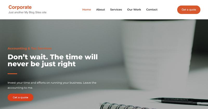 Yatri WordPress Theme