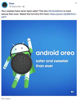 Đối tác Oreo Android Oreo