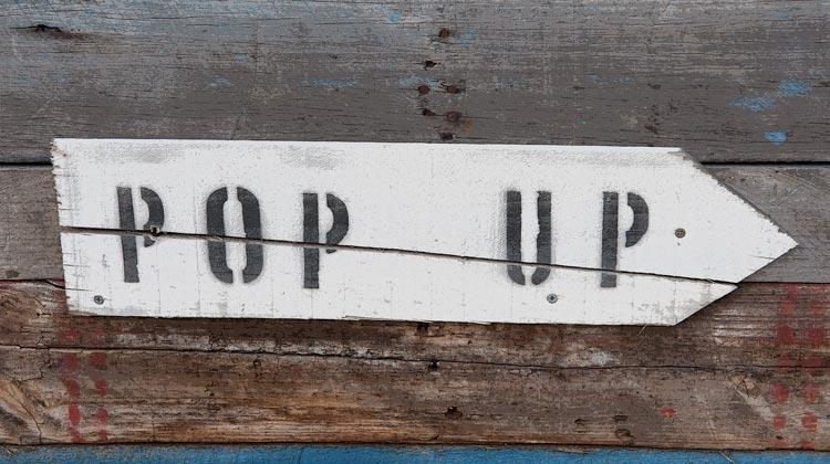 Pop-Ups en pantalla ... ¿molesto o efectivo? El   Publicidad disruptiva