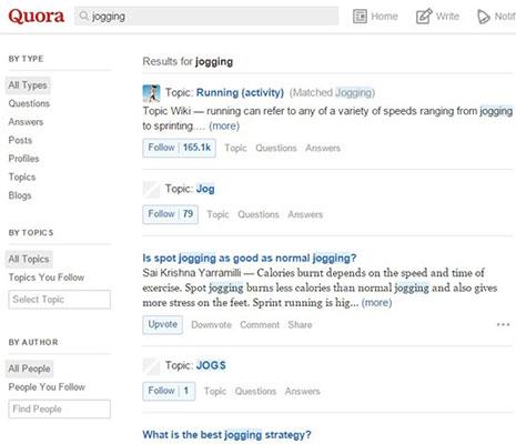 Trang web câu hỏi và trả lời Quora