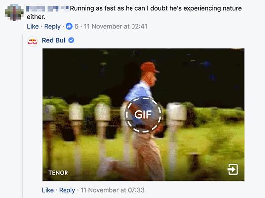 Ví dụ về Red Bull Gif