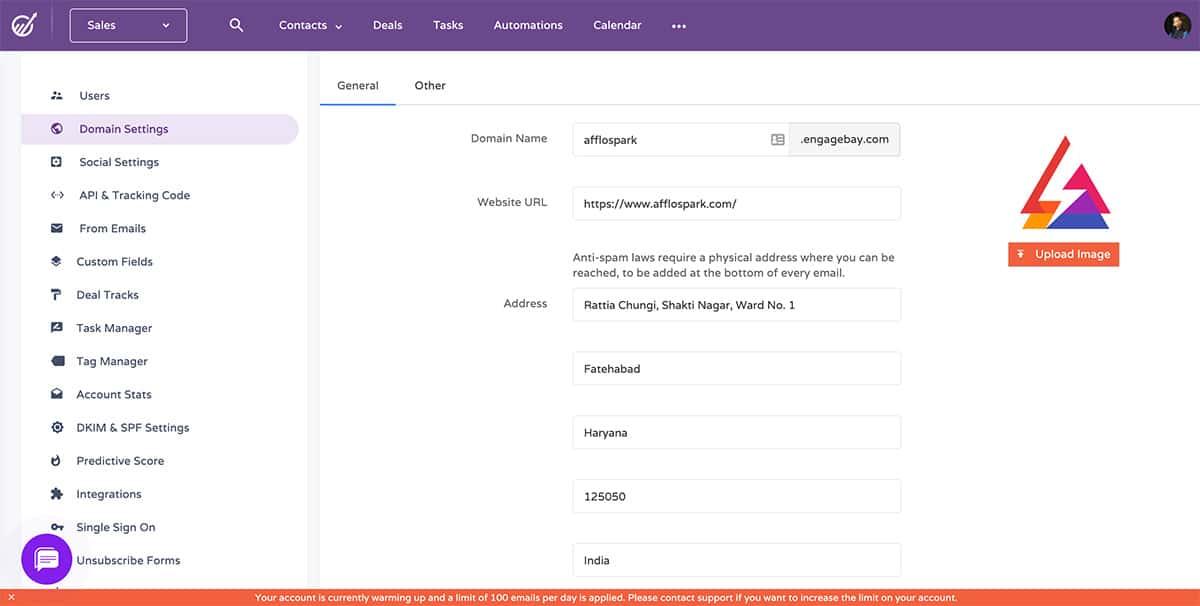 Revisión de EngageBay: una herramienta todo en uno para administrar su negocio sin problemas 29