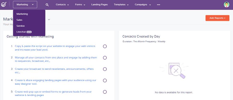 Revisión de EngageBay: una herramienta todo en uno para administrar su negocio sin problemas 2